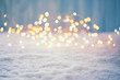 canvas print picture - Christmas Bokeh Background