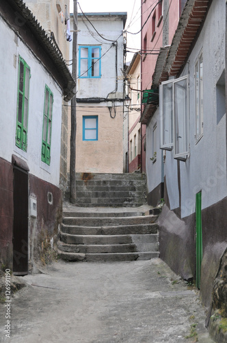 Enge Gasse Mit Einer Treppe Buy This Stock Photo And Explore