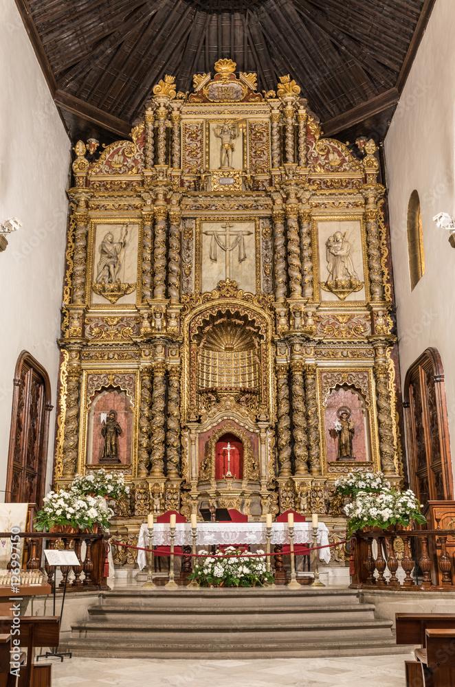 Fotografie, Obraz  Église de Nuestra Senora de la Pena de Francia à Puerto de la Cruz (Tenerife, Es