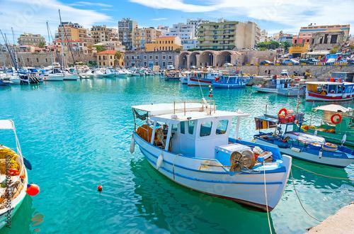 Wewnętrzny port w Heraklionie