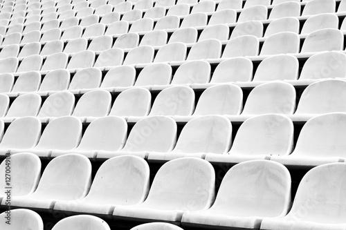 In de dag Stadion Tribunes