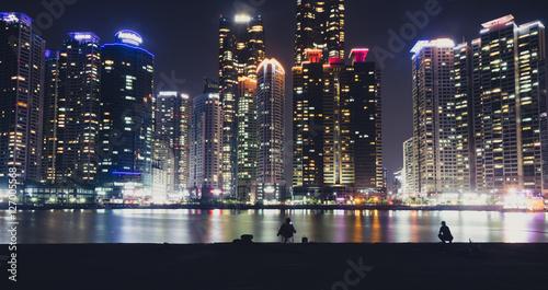 Plakat Skyline Busan