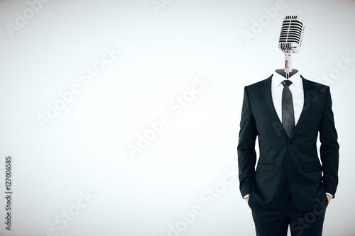 Fotografie, Obraz  Speech concept