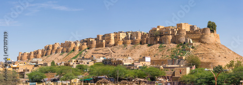 Aluminium Prints Fortification Jaisalmer fort in Rajasthan, India