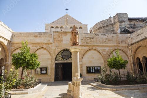 Cadres-photo bureau Edifice religieux Palestin. The city of Bethlehem. The Church of the Nativity of Jesus Christ