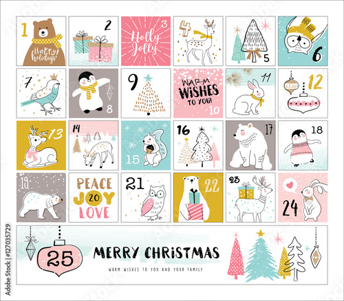 Fotografie, Obraz  Countdown to Christmas