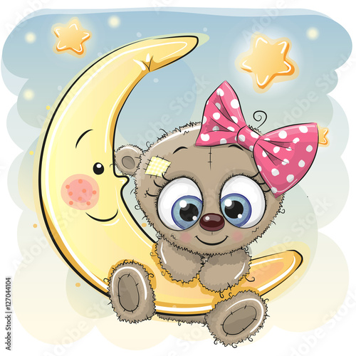 cute-cartoon-teddy-bear-girl