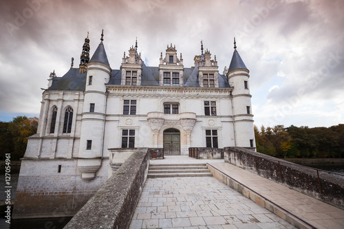 Papiers peints Paris The Chateau de Chenonceau facade, France