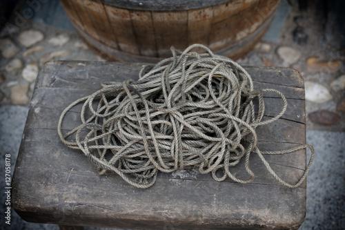 Fotografie, Tablou Cuerdas antiguas