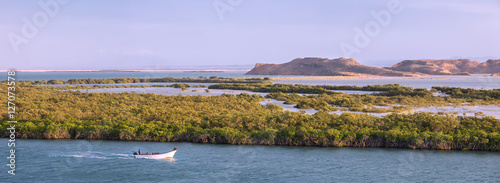 Hondita bay near Punta Gallinas is the northern point of South A