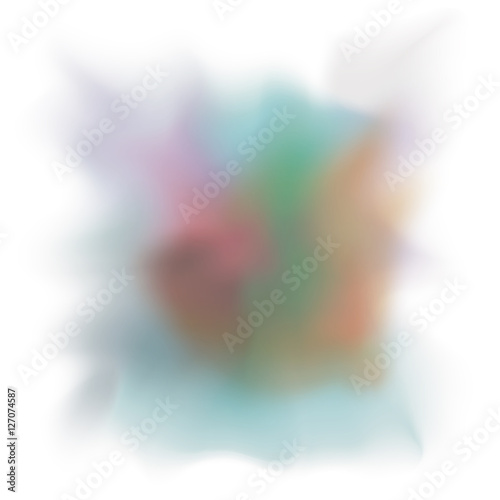 Keuken foto achterwand Kip Blurred multicolored figure icon. Abstract texture motion and soft theme. Vector illustration