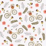 Wiosna kwiatowy wzór - 127082121
