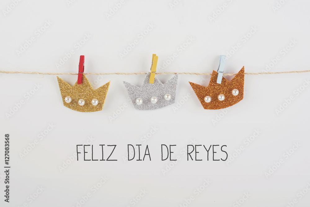 Feliz Dia De Reyes Fotos.Photo Art Print Feliz Dia De Reyes Europosters