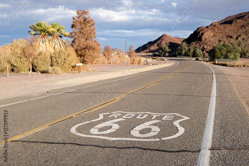 Poster Route 66 La Route 66