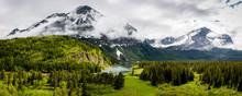 """Glacier Rain 2"" The Eastern Entrance To Glacier National Park In Northwestern Montana Is Majestic."