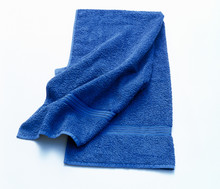 Bath Towel. Isolated On White.