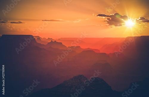 Valokuvatapetti Arizona Grand Canyon Sunset
