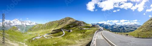 Foto auf Gartenposter Gebirge Großglockner High Alpine Road, Carinthia, Austria