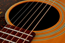 Cutaway Acoustic Guitar - High Quality