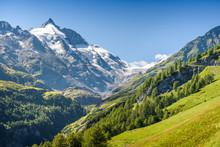 Großglockner, The Highest Mountain Of Austria, Carinthia,