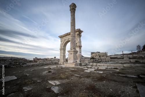 Foto op Aluminium Rudnes historical architecture of ruins in Turkey