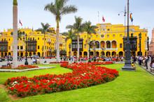 Plaza Mayor In Historic Center...