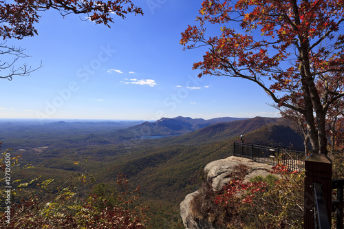 Fotografia, Obraz  Caesars Head State Park in upstate South Carolina during the fall
