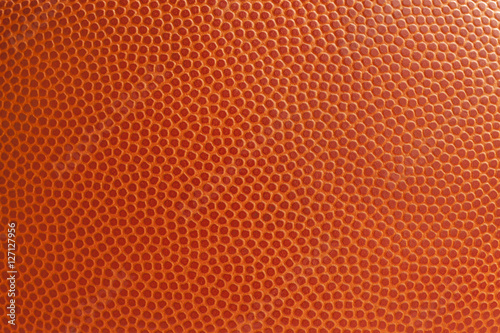 Basketball texture close up