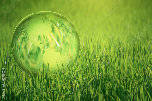 Foto  green world concept