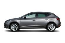 Generic Car, Studio Shot Isolated On White