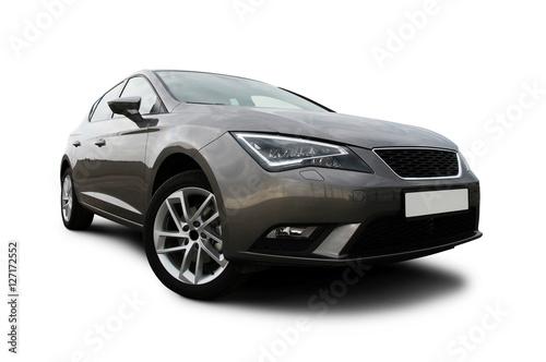 Zdjęcie XXL ogólny samochód, studio strzał na białym tle