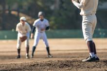 野球の試合風景