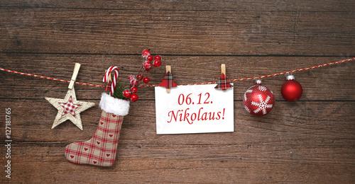 Foto-Doppelrollo - Nikolaus (von MK-Photo)