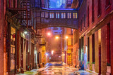 Fototapeta Nowy Jork - Tribeca Alley in New York