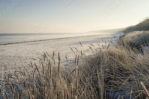 Ostsee Strand im Winter