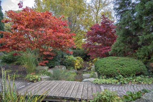 Herbst In Hamburg Park Planten Un Blomen Und Japanischer Garten