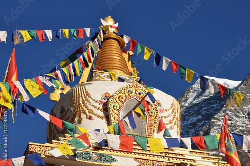 Canvas Print Stupa in Nepal