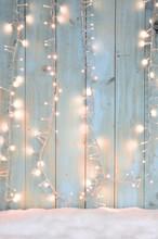 Weihnachtlicher Hintergrund - Lichterglanz