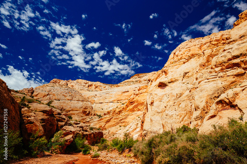Zdjęcie XXL Grand Wash szlak, Capital Reef National Park, Utah, USA