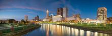 View Of Downtown Columbus Ohio...