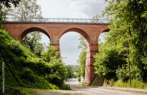 Viaduct. Lagów, Poland