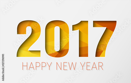 Horizontal Banner Template Background Happy New Year 2017 Buy