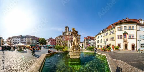 Photo  Marktplatz, Rathaus, Weimar