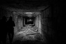 Walk Through Abandoned Tunnel