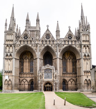 Peterborough Cathedral West Facade