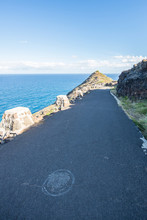 Paved Ocean Side Mountain Trai...