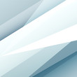 Square blue and grey abstract background with white graphic elements