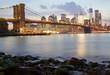 Brooklyn Bridge and the Lower Manhattan