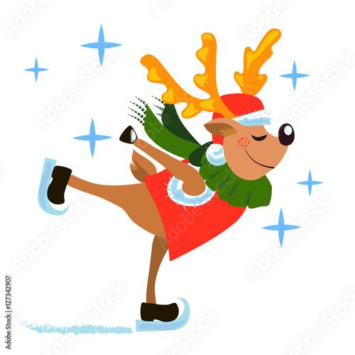 In de dag Ridders christmas deer