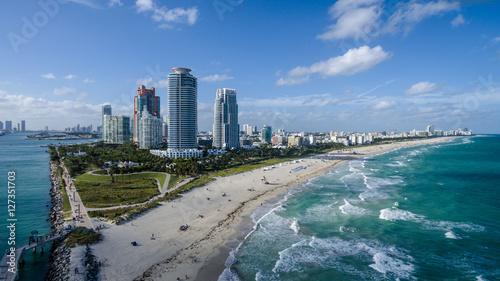 Obraz na płótnie South Pointe Park Miami Beach